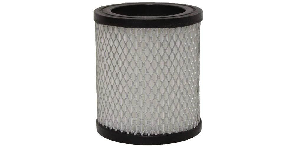 Filter eines Aschesaugers
