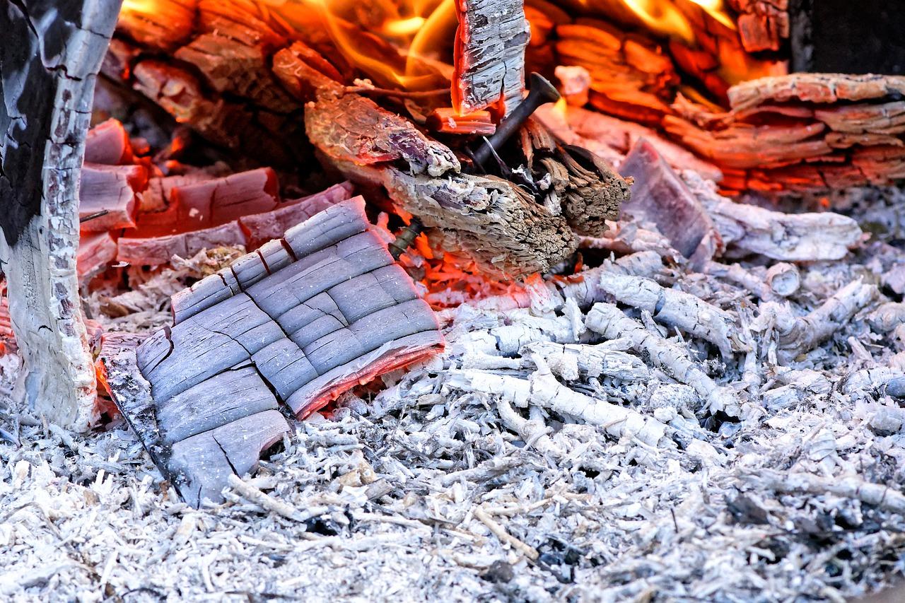 Feuer Asche Glut