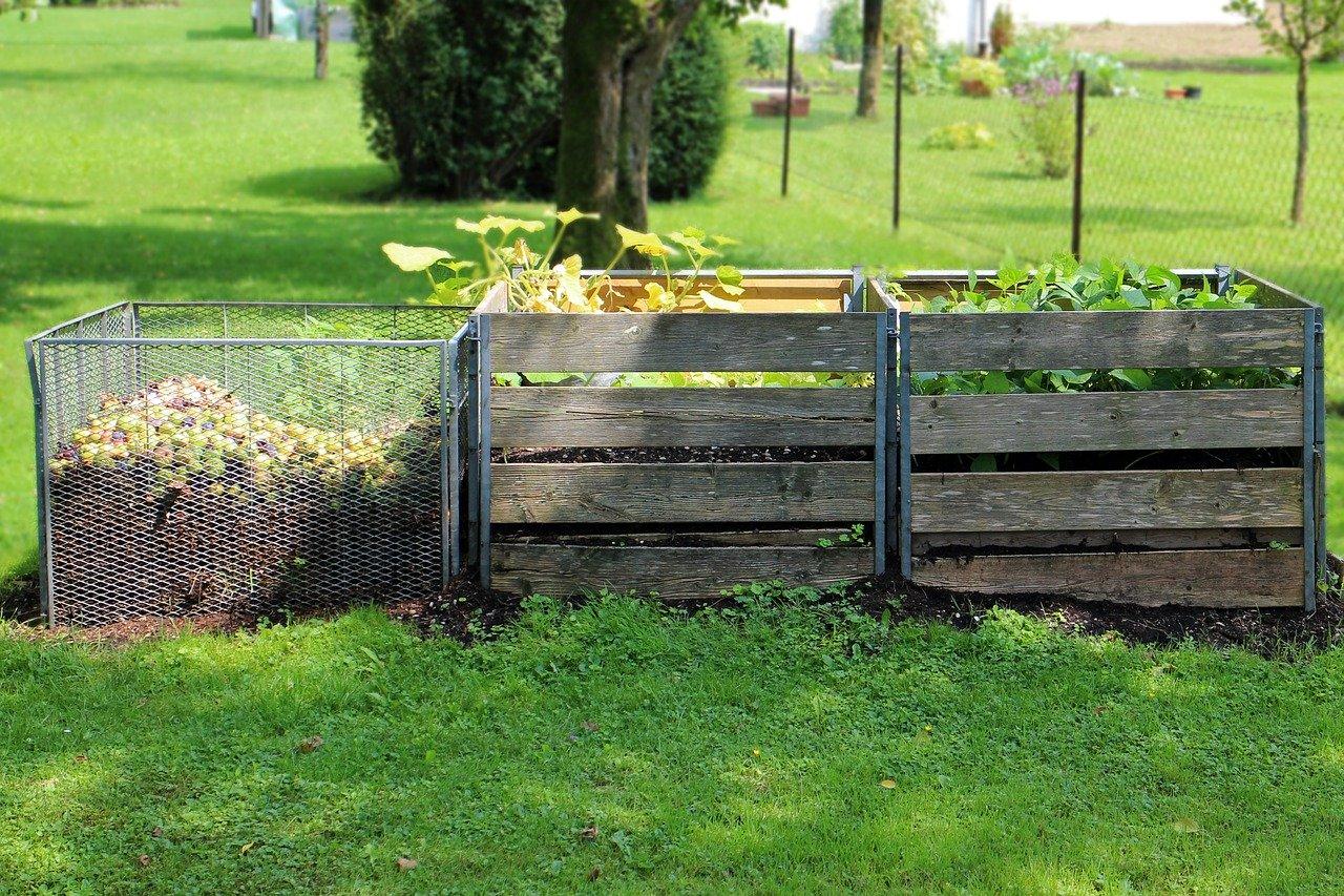 Garten Kompost Wiese