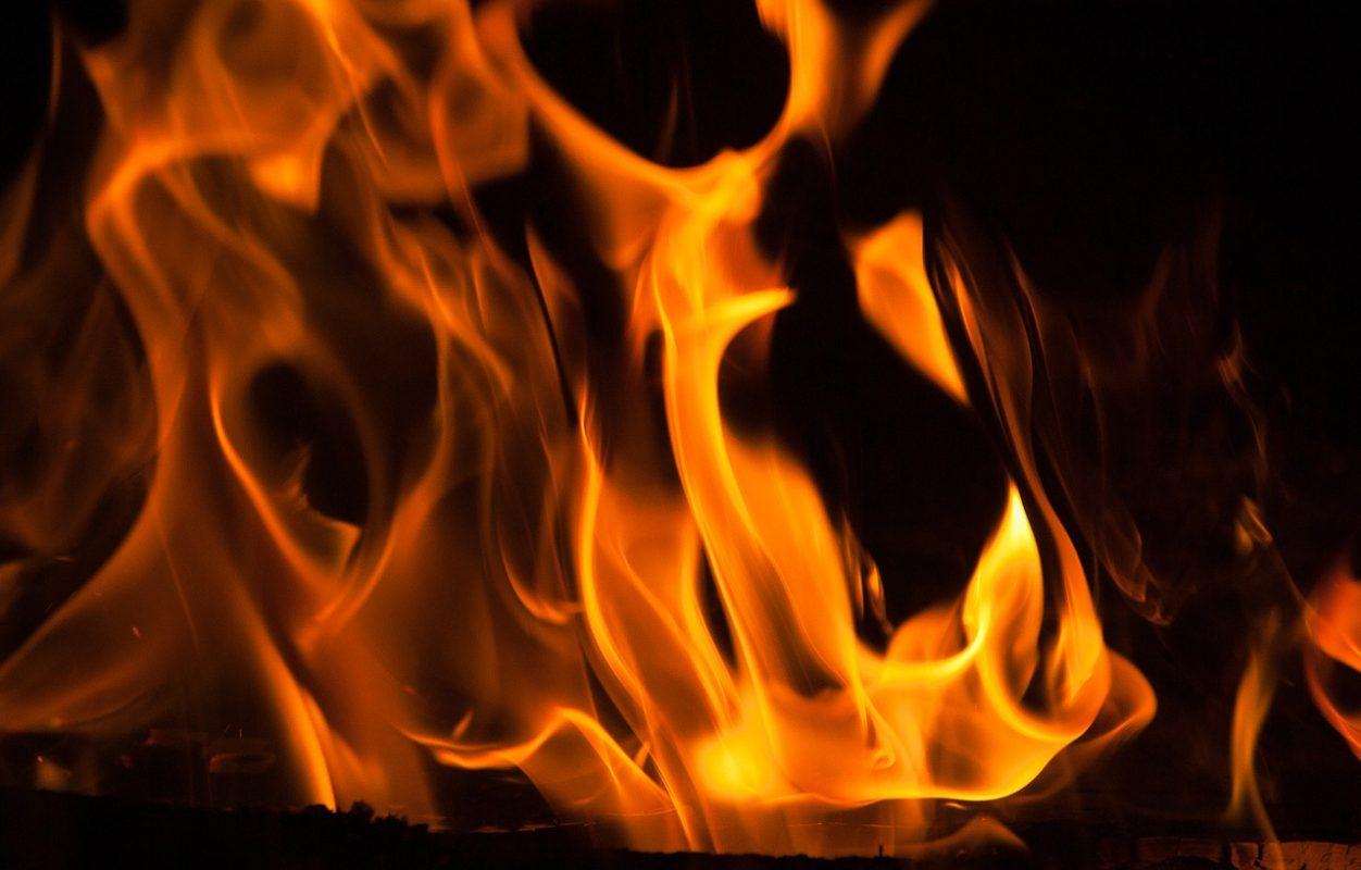 Flammen Feuer Hitze Kamin